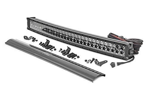 Rough Country 30' Curved Dual Row LED Light Bar   CREE   Daytime Running Lights/Amber   27,000 Lumens   72930BDA
