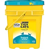 Purina Tidy Cats Clumping Cat Litter; Instant Action Multi Cat Litter - 35 lb. Pail