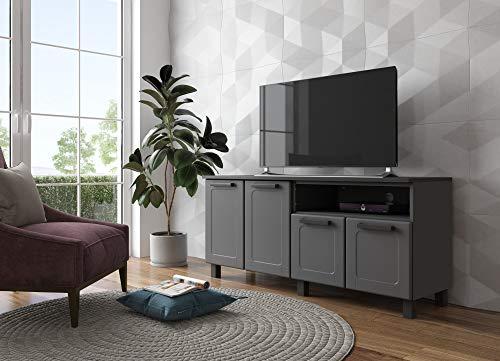 Bertolini TV Stand & Steel Cabinet