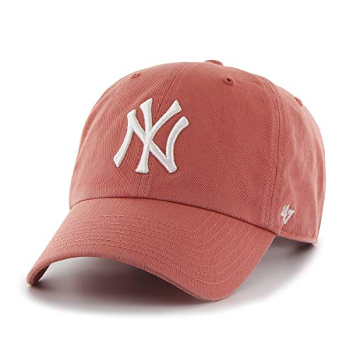 47 New York Yankees Casquette, Rose (Pink), Fabricant: Taille Unique Mixte