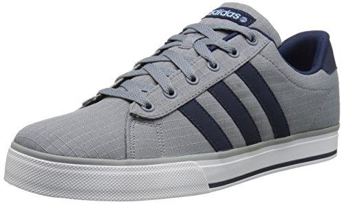 adidas NEO Men's SE Daily Vulc Lifestyle Skateboarding Shoe,Black/Black/White,11 M US