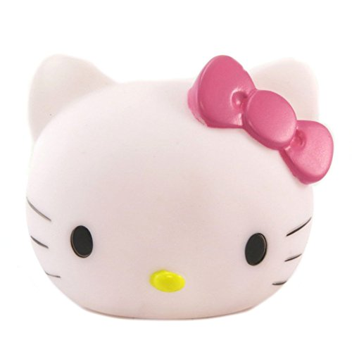 Hello Kitty [P6483 - Lampe veilleuse 3D Blanc Rose - 11x10x9.5 cm