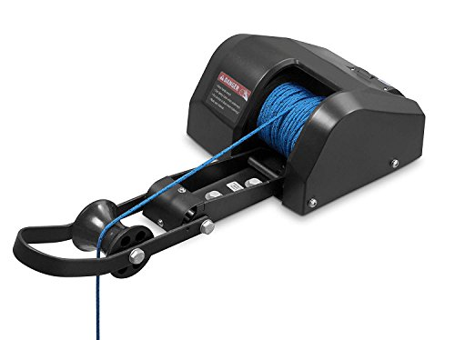 Pactrade Marine Boat Pontoon Electric Anchor Winch 100 ft Rope Freshwater for Anchor Up to 30lbs 1-(Pack)
