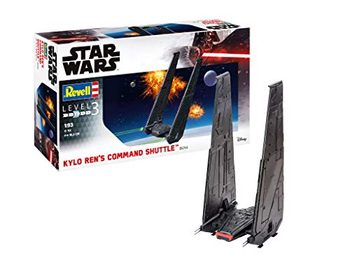 Revell- Kylo Ren's Command Shuttle Ren Kit di Modelli in plastica, Multicolore, 1/93, 06746/6746