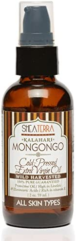 Shea Terra Kalahari Mongongo Cold pressed Extra Virgin Oil All Natural Organic Oil Rich in Protein product image