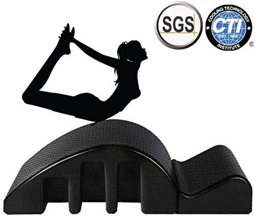 HongLianRiven Pula Pilates Yoga Pilates Cama de Masaje, Equipo de Peso rápido Pérdida Yoga, Fitness y el Cuerpo Que Forma, Tronco Corrector, Cama de Masaje Volver 7-28 (Color : Soft)