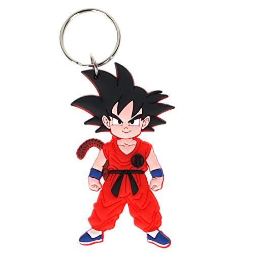 CoolChange Llavero de Dragon B con Figura en PVC de Son Goku
