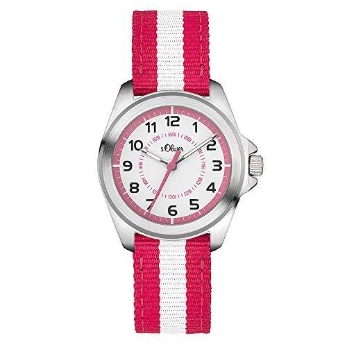 s.Oliver Time Mädchen-Armbanduhr SO-3402-LQ