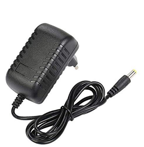 Guillala AC DC Netzteil 5,5 x 2,1 mm langlebig 12V 2A AC/DC Adapter EU Stecker für LED-Lichtbänder, CCTV-Kamera, WLAN-Router