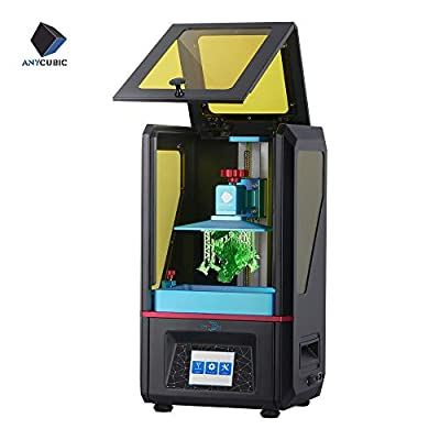ANYCUBIC Photon UV Photocuring 3D Printer, Ultra Precision 2560x1440 2K HD Masking LCD with Smart Touch Color Screen Off-line Print and UK Plug (Basic Accessories)