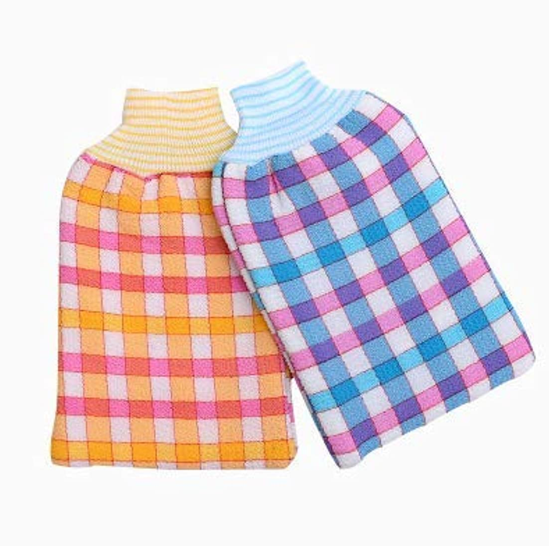 有名チロスリラーDhe シャワーグローブ 浴用手袋 バス手袋 入浴用品 毛孔洗浄 肌マッサージ