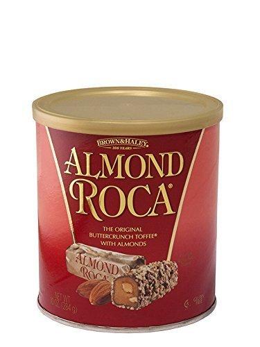 Almond Roca Buttercrunch Toffee with Almonds, 10 oz by Almond Roca