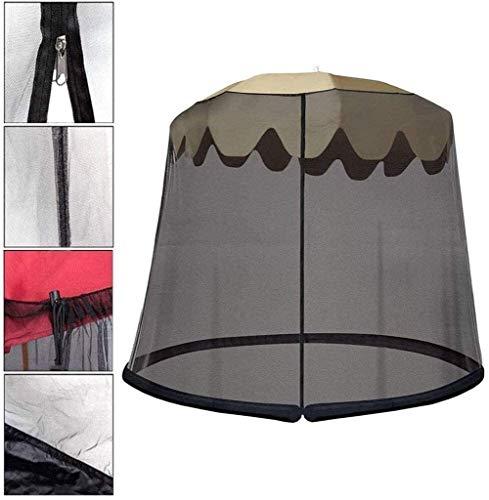 LYYJIAJU Outdoor Mosquito Net Tent Outdoor Umbrella Mosquito Net Camping Patio Umbrella Screen/Patio Netting (Size : 275 * 230cm)