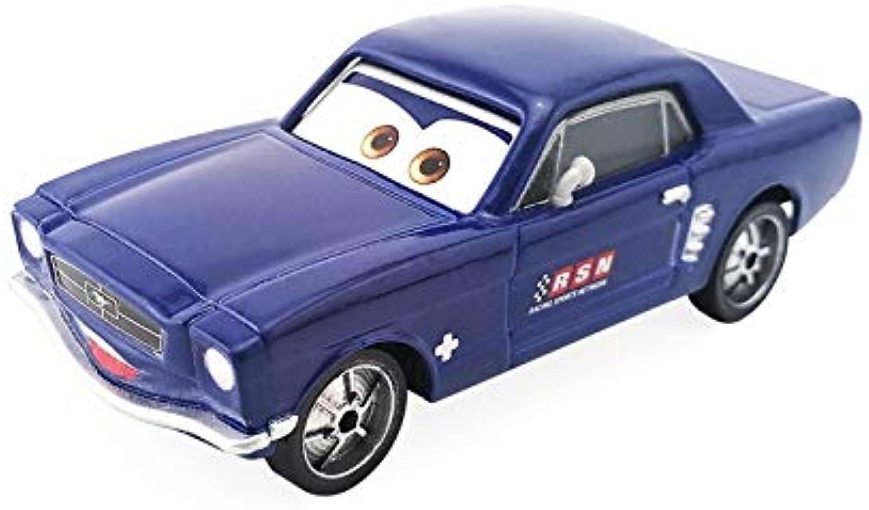 Disney Disney Pixar Cars Brent Mustangburger 1 55 Diecast Metal Toy Car Model Loose Kids Xmas Gift