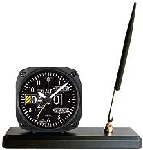 Trintec 2060 Series NV Aviation Altimeter Desk Pen Set with Alarm Clock 3.5