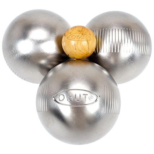 Obut Loisir inox LOOP Up, jeu de 3 boules