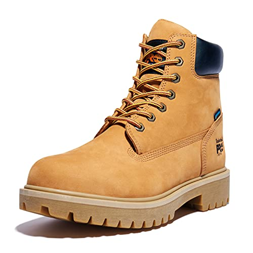Timberland PRO Men's 65016 Direct Attach 6″ Steel Toe Boot