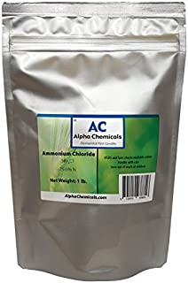 Alpha Chemicals Ammonium Chloride - NH4Cl - 1 Pound