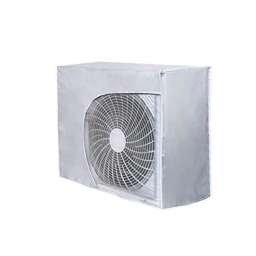 HOMEWINS - Cubierta Exterior de Aire Acondicionado Antipolvo antiniebla Impermeable Funda climatizadora Exterior (Correcto, 92 * 35 * 69cm)