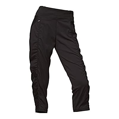 The North Face Women's on The Go Mid-Rise Crop Pants, TNF Black, X-Small Regular