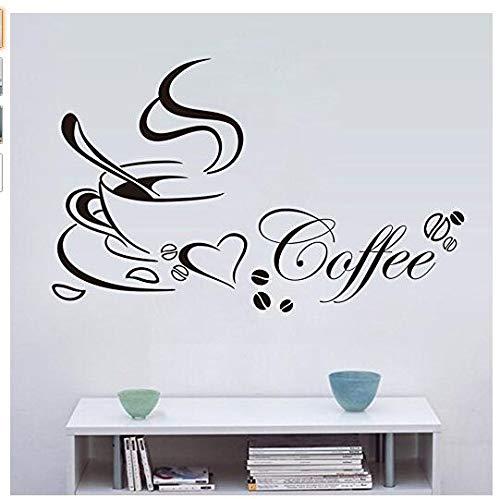 Café Sticker Mural
