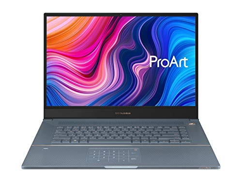 "ASUS ProArt StudioBook Pro X Mobile Workstation Laptop, 17"" FHD Narrow Bezel, Intel Xeon E-2276M, 64GB ECC DDR4, 4TB PCIe SSD, Nvidia Quadro RTX 5000, Windows 10 Pro, W730G5T-XH99, Star Grey"