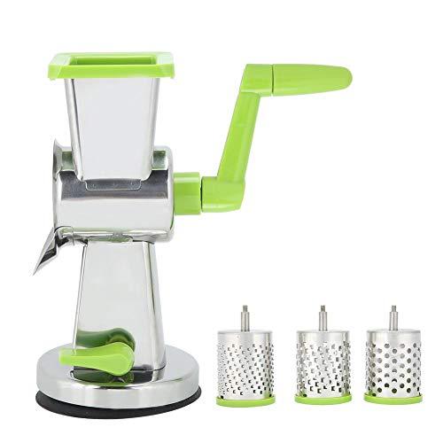 Manual Speedy Rotared Vegetable Shredder Grinder Trituradora de papa zanahoria Rallador Fruta Queso Cortador de la cortadora de nueces