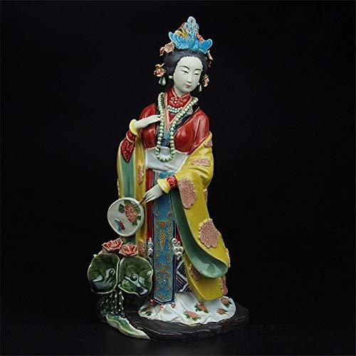 Estatua Sculpture Figurine La Antigüedad China Figura Jinli