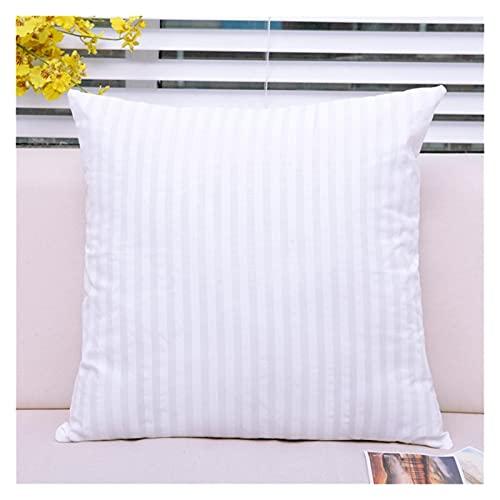 Varios Tipos de Almohadas para Todos en el hogar Cojín Interior llenado de algodón Acolchado de algodón para Almohadillas de Almohada para Almohadillas de Almohada de Almohada. (Size : 50x50cm)