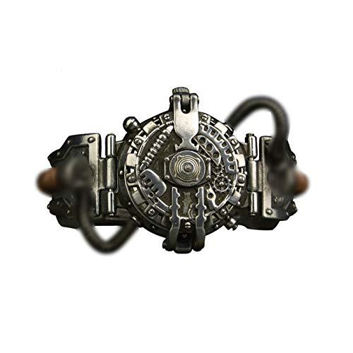 WAIY Reloj Steampunk de Halloween, Reloj Anti-caída Impermeable de Cuarzo con dial...