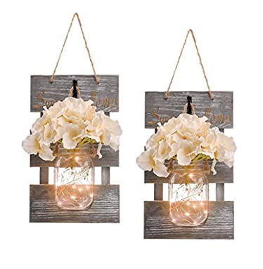 Rustic Wall Sconces for Farmhouse Wall Decor