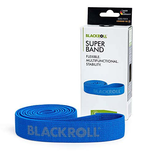 BLACKROLL® SUPER BAND - Fitnessband. Trainings-Band/Gymnastik-Band/Sport-Band für eine Stabile Muskulatur mit starkem Widerstand