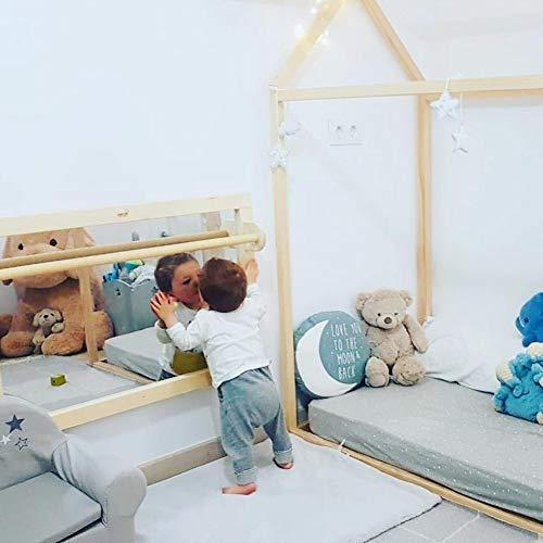 AMOVA®-Espejo de seguridad con barra Montessori