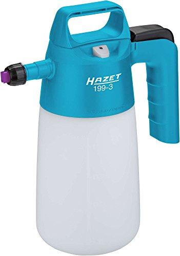 HAZET Pumpsprühflasche (Sprühflasche zur Desinfektion von Flächen und zur Erzeugung von dauerhaftem Schaum, geeignet für Tenside, 0,75 l Nutzinhalt, Viton-Dichtungen) 199-3