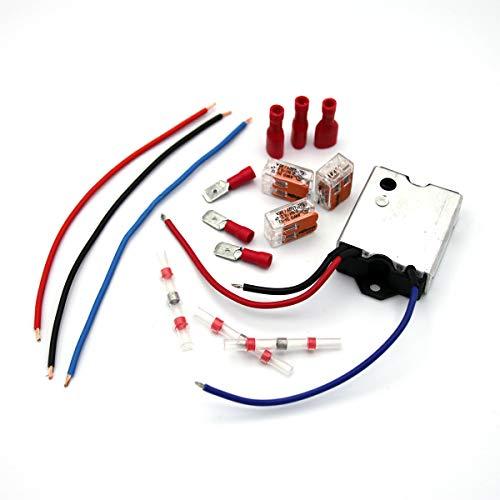 Softstart Modul 230 Volt 16A inkl. Insallationsset Sanftanlauf