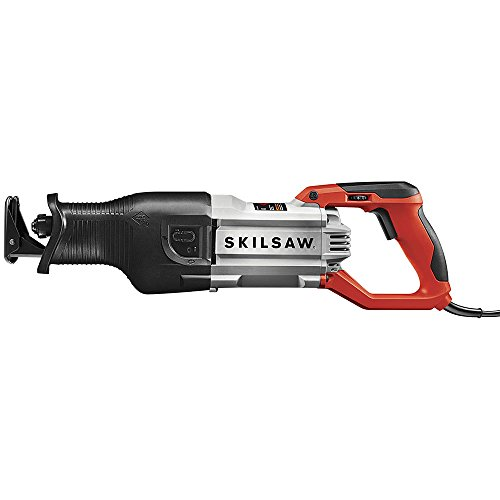 SKILSAW SPT44-10 Heavy Duty Reciprocating Saw, Red