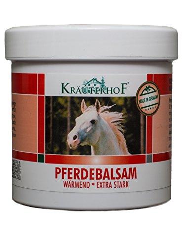 Kräuterhof 10448 Pferdebalsam Massage Gel Wärmend Extra Stark 250ml (F3/13)