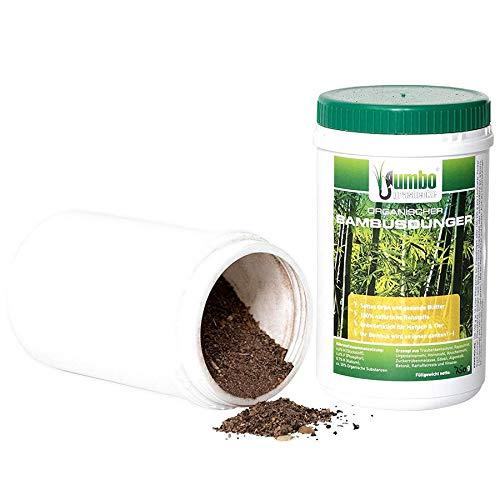 Jumbogras 1 x Bambusdünger mit Langzeit-Wirkung, Ökodünger für alle Ziergräser, Gräser-Beete und Gras-Pflanzungen (750 Gramm)