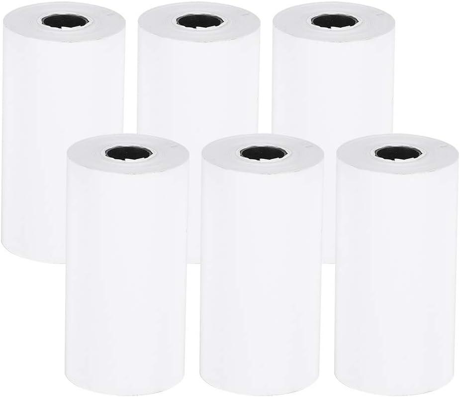 Thermal Paper Max Popular standard 77% OFF 6 Roll Receipt Printing Professional