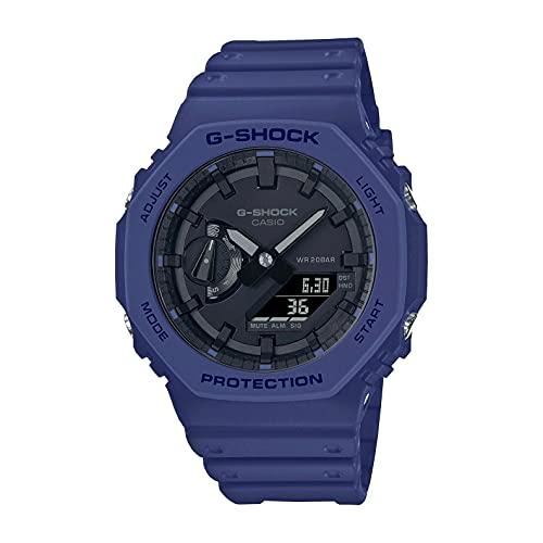 Reloj Casio G-Shock Carbon Core Guard Analogue Digital Navy Blue GA-2100-2AER