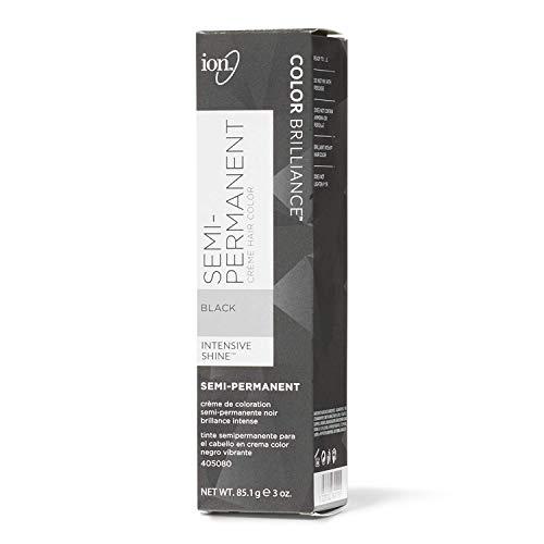 Ion Black Semi-Permanent Hair Color Black