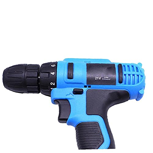 Electric Drill Driver Rechargeable Wireless Mini Cordless 21V Drill Multifunctional Household Tool for Home Household Industrial Tool