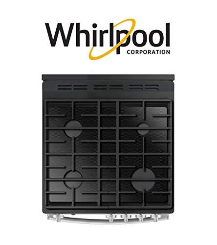 FireFly Herdabdeckschutz für Whirlpool-Gasherd, maßgefertigt, ultradünn, wiederverwendbar, Spritzschutz WFG320M0BW