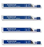 Staedtler Mars Micro Carbon pencil 0.7mm lead refill 2B & HB, Total 48 leads