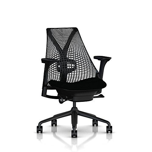 Herman Miller Sayl Chair, Licorice Crepe