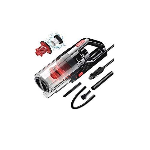 Z&LEI 150W 6000PA Aspirador de automóviles, húmedo/seco Cyclone Cyclone Aspirador portátil inalámbrico/con Cable de Limpiador de succión eléctrica Fuerte,B
