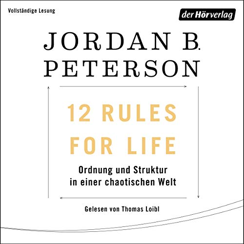 12 Rules For Life audiobook cover art