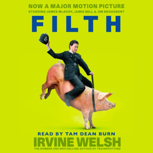 Filth audiobook cover art