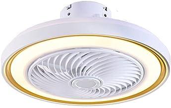 BBZZ Afstandsbediening Eetkamer Plafond Ventilatorverlichting, Moderne Acryl Plafondlampen, Slaapkamer Ventilatorlicht, Ge...