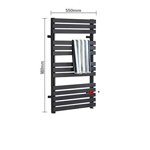LYZPF Badkamerradiator, radiator, magazijnrek, handdoeken, elektrische handdoekenverwarming, radiator, handdoekhouder, verwarmd